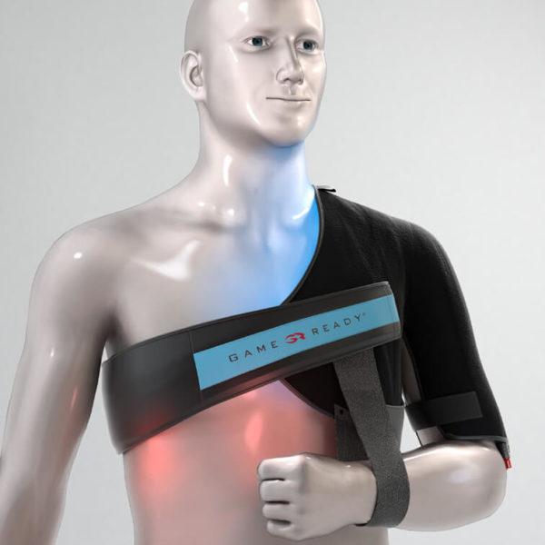 Game Ready - ortopedinen sidos, olkapää